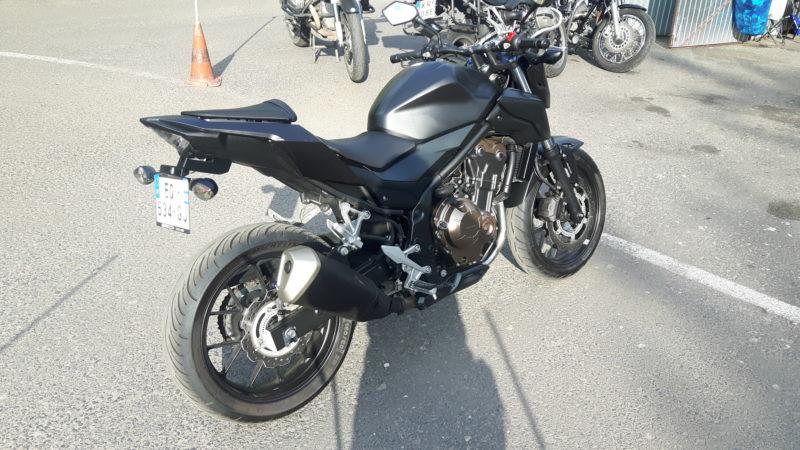 Nowy motocykl Honda CB 500